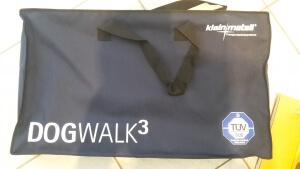 Tragetasche Teleskop-Hunderampe Dogwalk